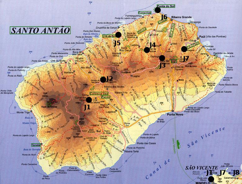 Trek Cap Vert Dans La Nature Trek Sur Santo Antao
